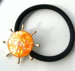 太陽のヘアゴム